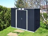 duramax   metal pent roof storage shed dary
