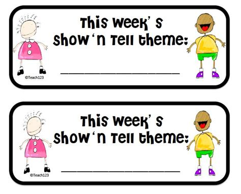 ideas for kindergarten show and tell 12 best show and tell images on pinterest classroom