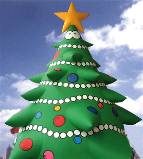 yolloy big christmas tree inflatable for xmas celebrating
