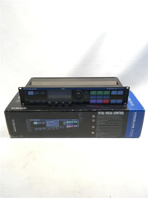 Reverb Rack by Tc Helicon Voicelive Rack Reverb