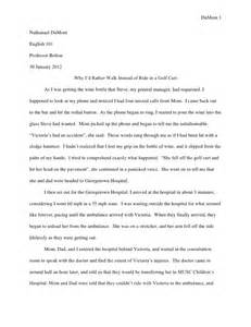Writing A Memoir Essay by Memoir Essay
