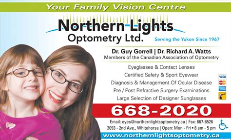 northern lights optometry whitehorse yt 2093 2nd ave