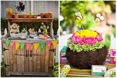 Little Girls Gardening Birthday Party Pizzazzerie Garden Birthday Ideas