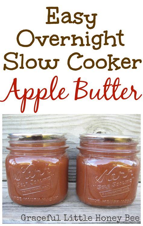 apple butter slow cooker apple butter graceful little honey bee