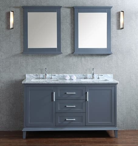 Gray Shaker Style Bathroom Vanities A Hot Bathroom Trend Shaker Style Bathroom Furniture