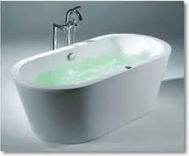 acritec o i b free standing bathtub contemporary