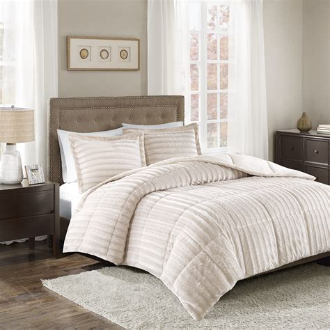 Fur Bed Comforter by Park Duke Faux Fur Comforter Mini Set