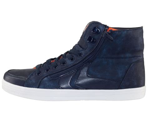 From Designer Shoes To Designer Zip Codes 2 by New Crosshatch Mens Designer Quilted High Top Trainers