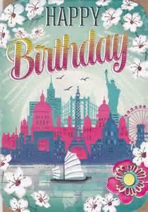 boat landmarks birthday card karenza paperie
