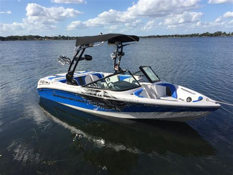 Orlando Upholstery Nautique Boats Super Air Nautique 210 Boats For Sale