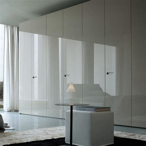 Bedroom Door Handles high gloss hinged wardrobe by jesse