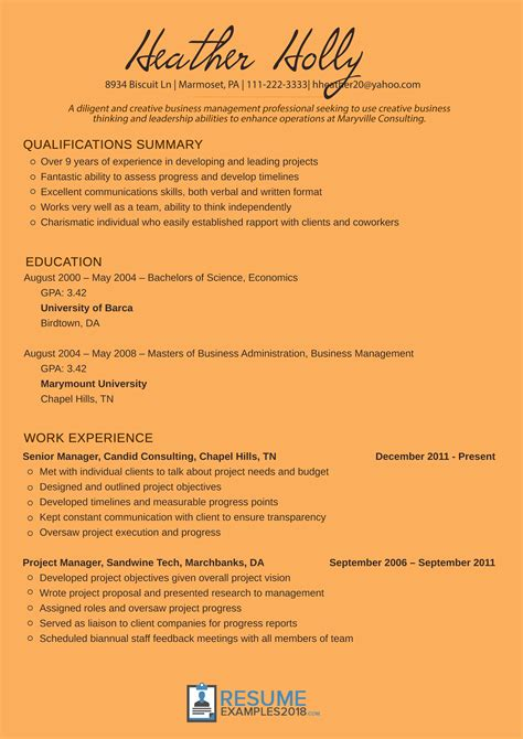 resume for nanny position examples resume examples for nanny
