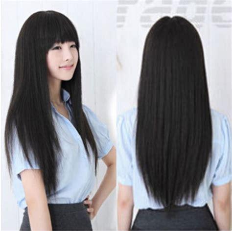 Wig Panjang hotsell free shipping 70cm korean fashion kawaii hair
