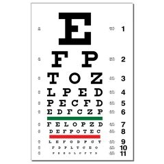 printable snellen eye chart uk drivers medical what is involved dvla requirements
