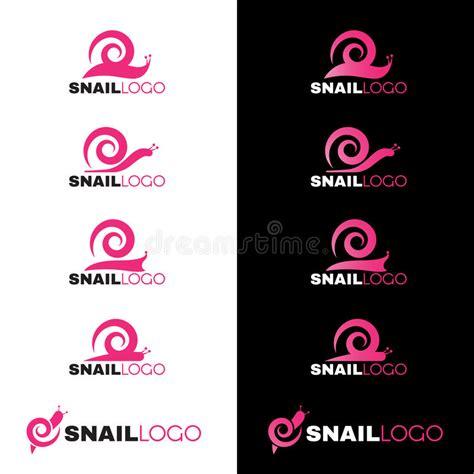 Kemeja Black Abstract White Snail pink snail line logo vector on white and black background