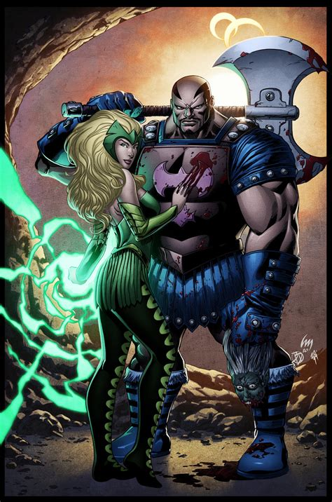 thor film enchantress the book of executioner heroscapers