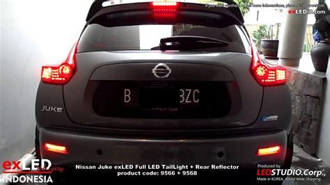 Lu Led Nissan Juke nissan juke exled led taillight rear reflector