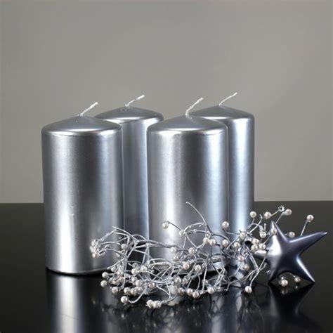 Kerzen Wandhalter Silber by Adventskerzen In Silber Kaufen Deko Mich