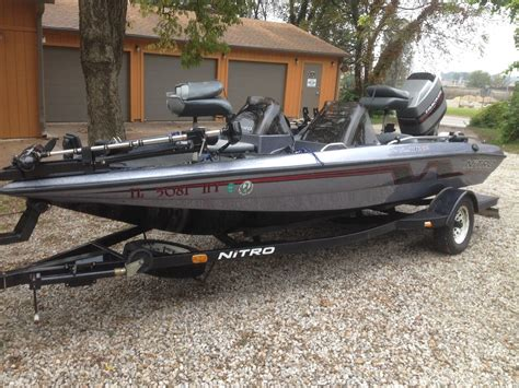 bass tracker nitro boats bass tracker dc170 nitro boat for sale from usa