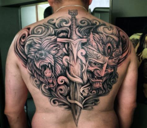 50 sword tattoos for men a sharp sense of sophistication