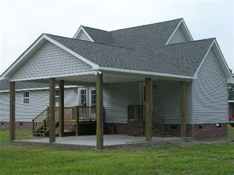 carport attached to house plans carport designs garages carports porches decks custom exterior links modular