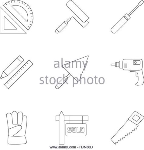 web worker pattern construction worker vector vectors black and white stock