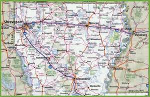 Maps Louisiana by Map Of Northern Louisiana
