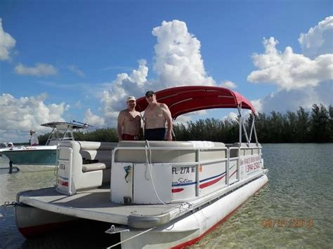 rose marina marco island boat rentals our pontoon boat picture of rose marina boat rentals