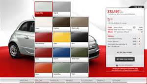 Fiat Paint Colors Fiat 500 Goes One On One With Mini Tech Options