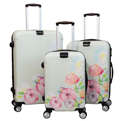 World Traveler 3 world traveler flower bloom 3 lightweight hardside
