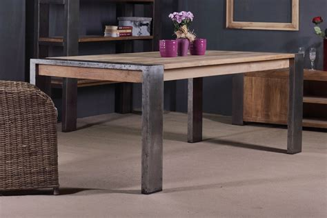 heracles dining table reclaimed teak furniture indonesia
