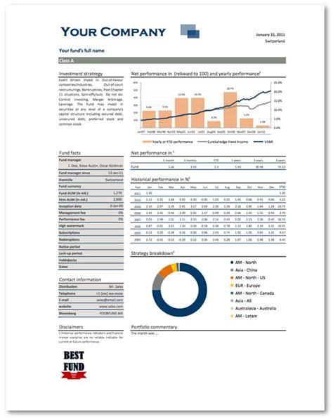 investment report template scsu investment club equity