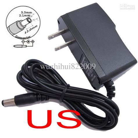 Jual Adaptor Dc 12v 1a ac 100v 240v converter adapter dc 12v 1a 9v 1a 5v 2a 12v 500ma power supply us free