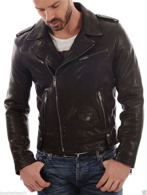 real leather motorcycle jackets 341 best fashion for men images on pinterest motorcycle