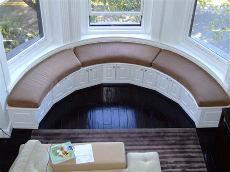 curved window seat fantastic curved window seat eclectic other metro by