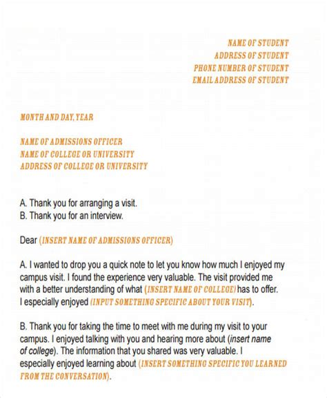 thanking letter for arranging thank you letter format free premium templates