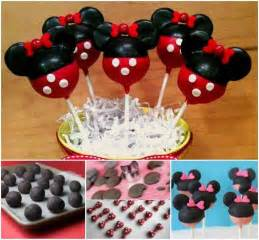 Wedding Cake Recipes Diy Disney Cake Pops With A Minnie Mouse Theme Pictures Photos And Images For Facebook