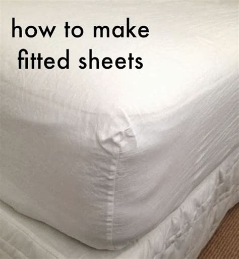 How To Sew A Mattress Cover by Tutorial How To Make Your Own Fitted Sheets Sew Tessuti