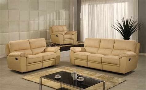 Real Leather Sofa Sets China Genuine Leather Recliner Sofa Set Sc 3602 China Home Furniture Leather Sofa Sofa