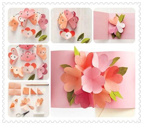 diy beautiful pop up flower card diy mother s day card como hacer tarjetas para el d 237 a de la madre 2 como hacer