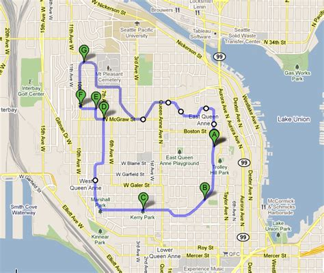 seattle map my run digithead s lab notebook running in