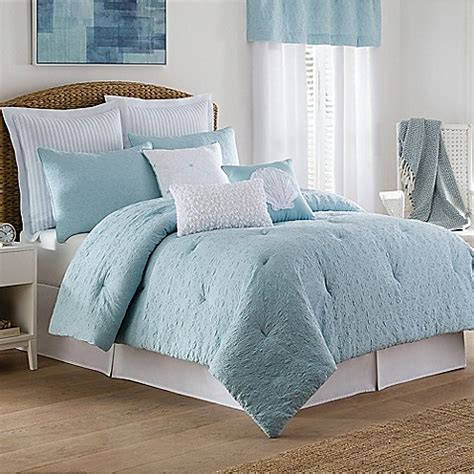 coastal bedding set coastal life luxe sonoma comforter set bed bath beyond