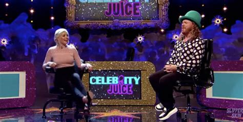 celebrity juice carrot game holly willoughby instagram can t compete with a celebrity