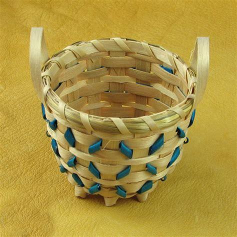 Handmade Indian Crafts - handmade indian basket 5 mesa farm american