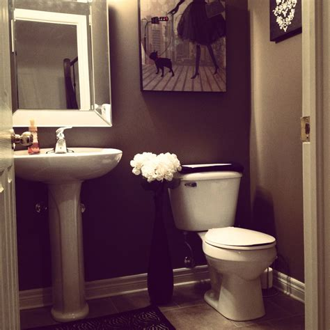 evening in themed powder room bedroom