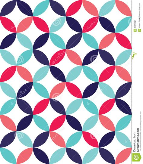svg pattern overlapping vector modern seamless colorful geometry overlapping