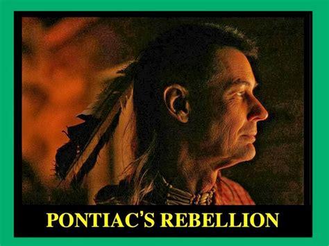pontiacs rebellion mr martin s powerpoint guides pontiac s rebellion