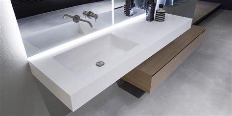integrated bathroom sink