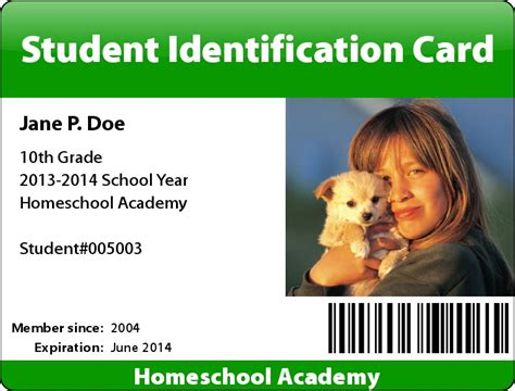 id card template maker student id card maker easy and free the