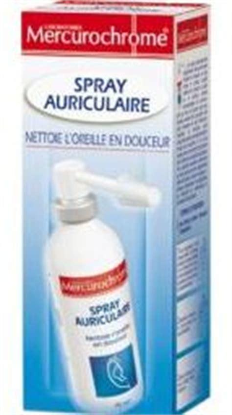 spray auriculaire mercurochrome soin du nez et des